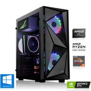 PC Gaming - AMD Ryzen 5 3600 6x3.60GHz, 16Go DDR4, RTX 2060, 480Go SSD + 1To HDD, Win 10 Home