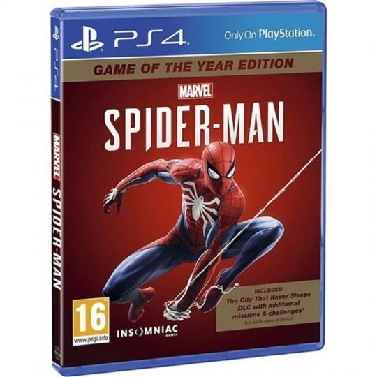 Spiderman PS4 édition GOTY sur PS4