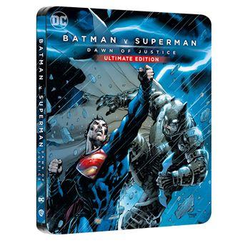 Blu-ray 4K : Batman Vs Superman L'Aube de la Justice Edition Comic Steelbook