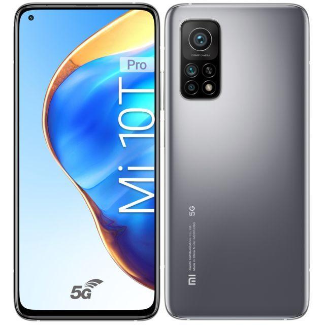 "Smartphone 6.67"" Xiaomi MI 10T Pro 5G - 256GO, 8Go de Ram"