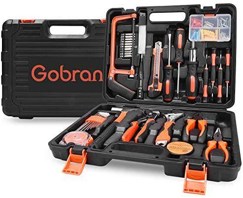 Malette à outils Gobran - 100 pièces (Vendeur tiers)