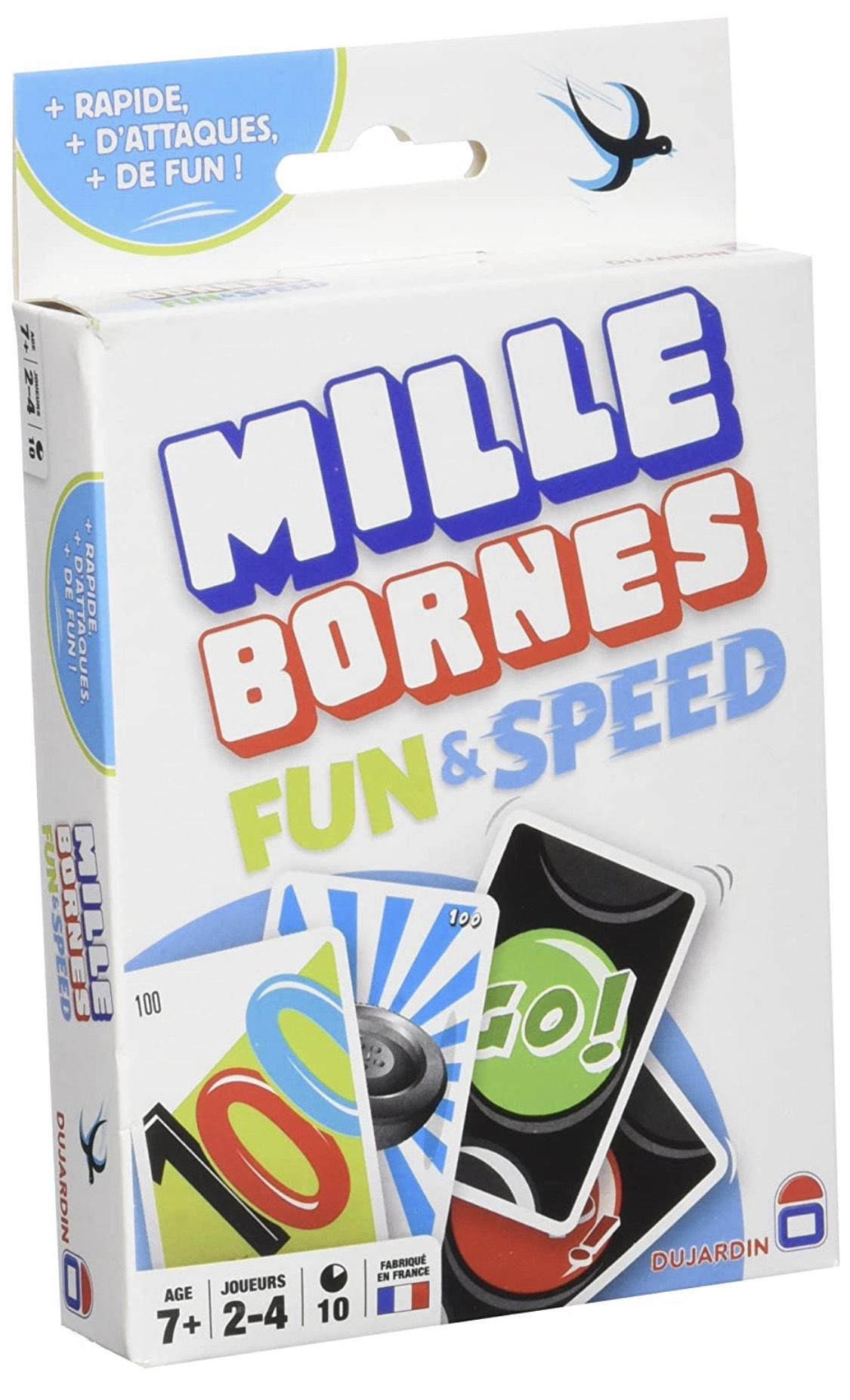 Jeu de société Mille Bornes Fun & Speed