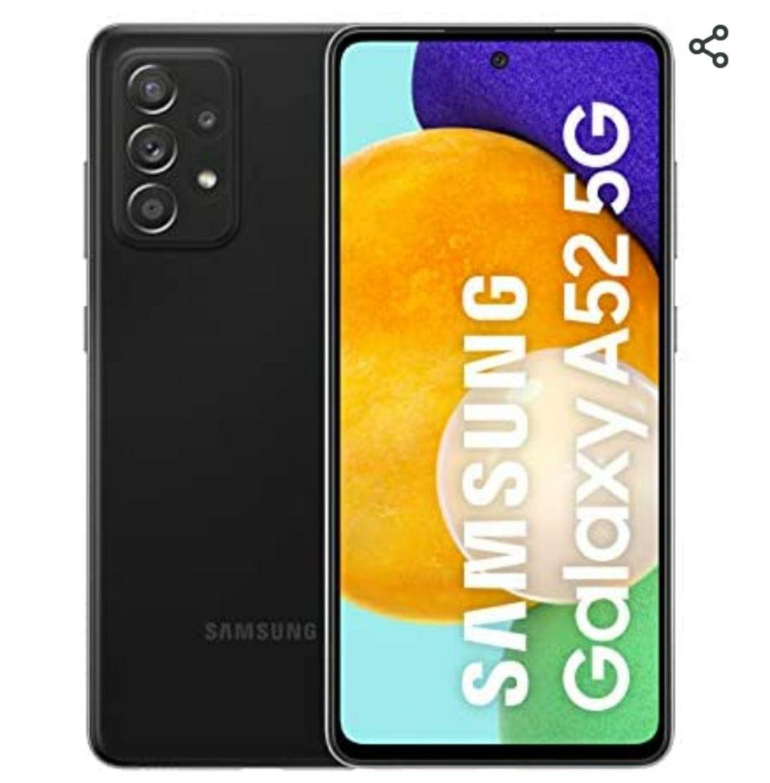 """Smartphone 6.5"""" Samsung Galaxy A52 5G - 128Go, blanc + 70€ de crédit amazon.es"""