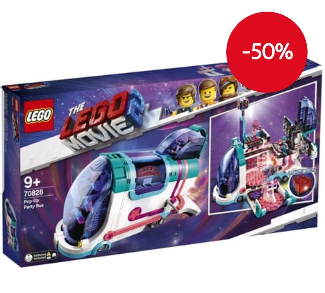 Jeu de Construction Lego Movie 70828 - Le bus discothèque