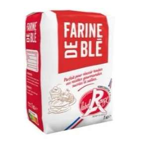 Paquet de farine de blé Label Rouge la Cie des farines - 1kg
