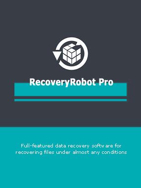 Logiciel de récupération de données Hors Ligne ' RecoveryRobot Pro' Gratuit - Licence 1an pour 3 ordinateurs (Dématérialisé)