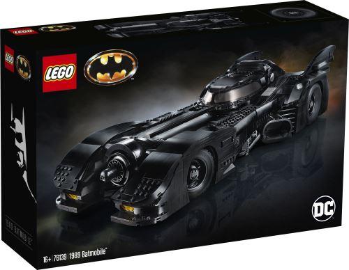 Jeu de construction Lego DC Super Heroes (76139) - 1989 Batmobile