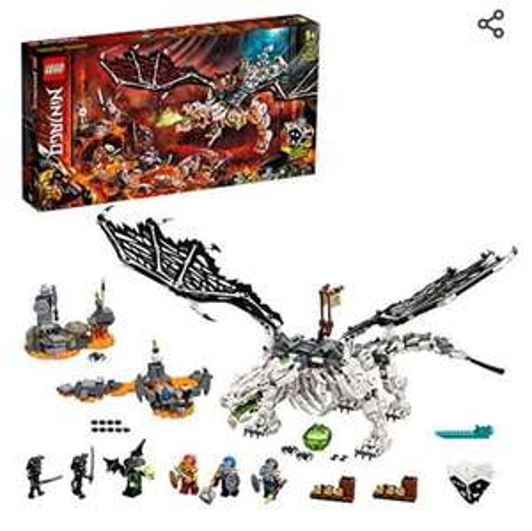 Jouet Lego Ninjago Le dragon du sorcier 71721
