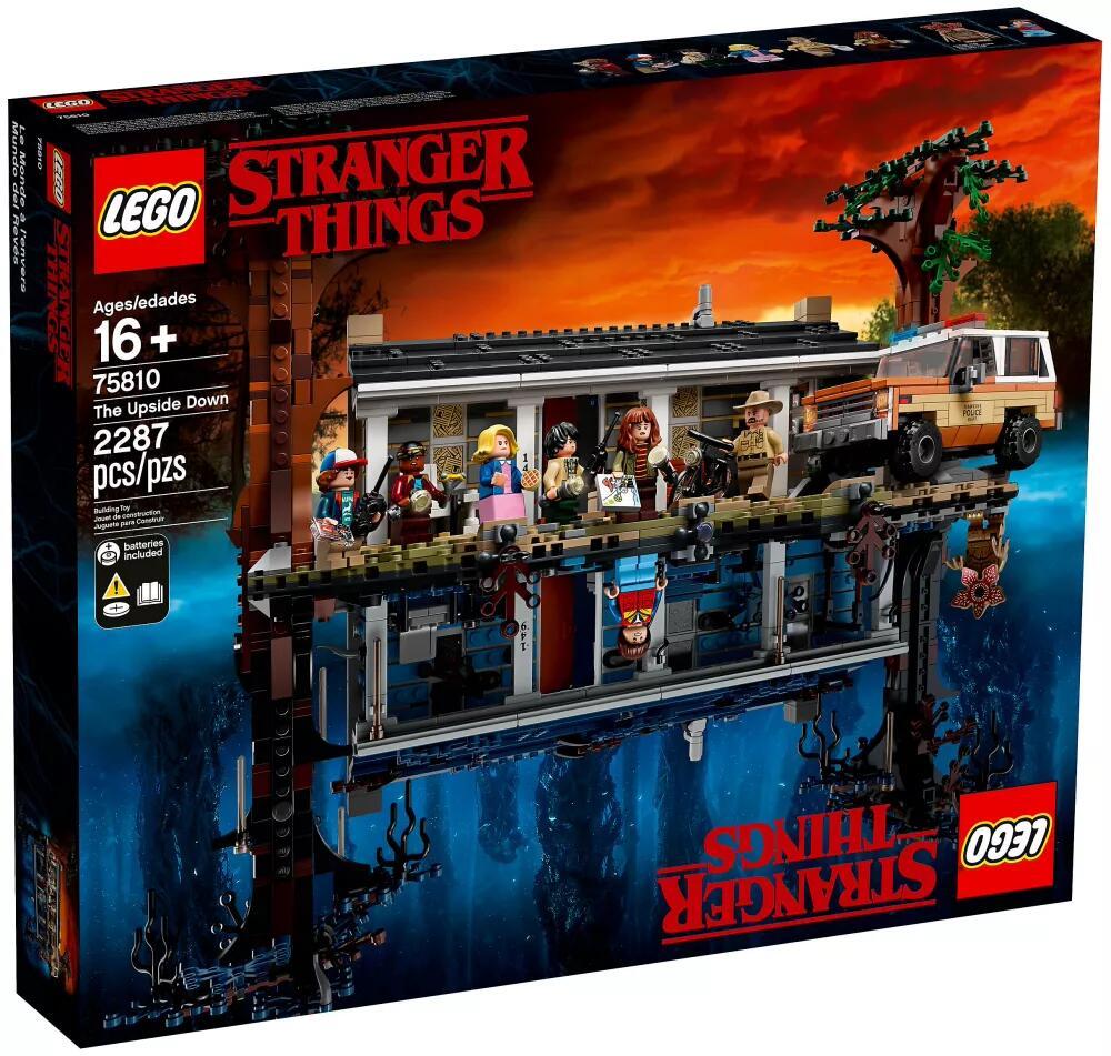 Lego Stranger Things - La maison dans le monde à l'envers (75810)