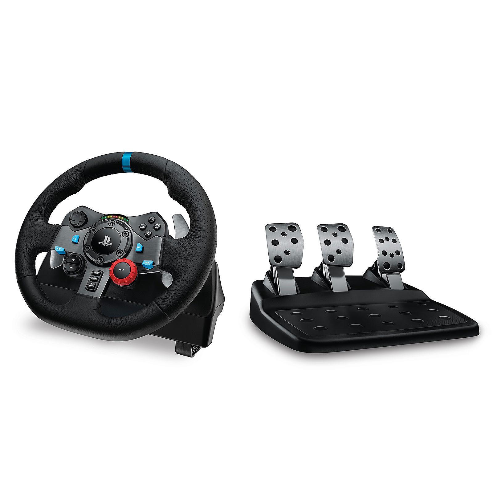 Volant Logitech G29 Driving Force + Pédalier (pour PC/ PlayStation 3/4/5)