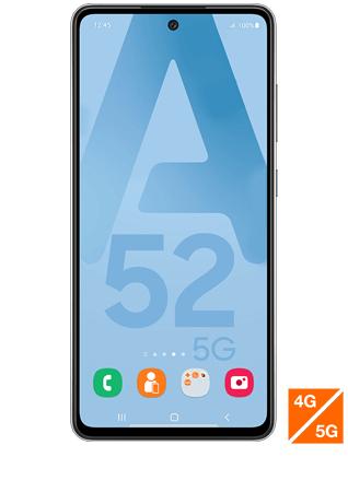 "[Clients Sosh] Smartphone 6.5"" Samsung Galaxy A52 5G - 128 Go (Via ODR de 50€)"