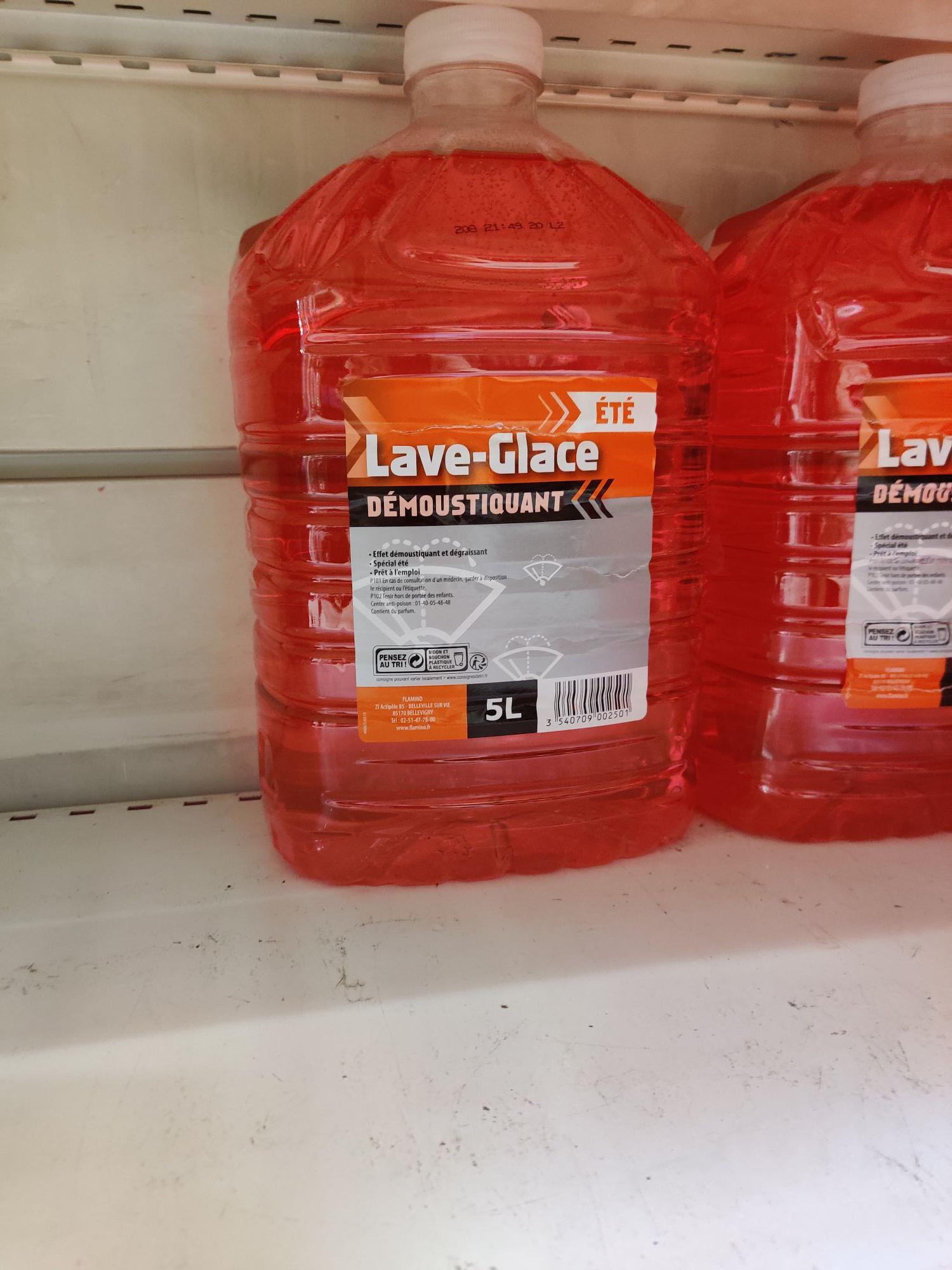 Bidon de 5 litres de liquide lave glace été démoustiquant - Osny (95)