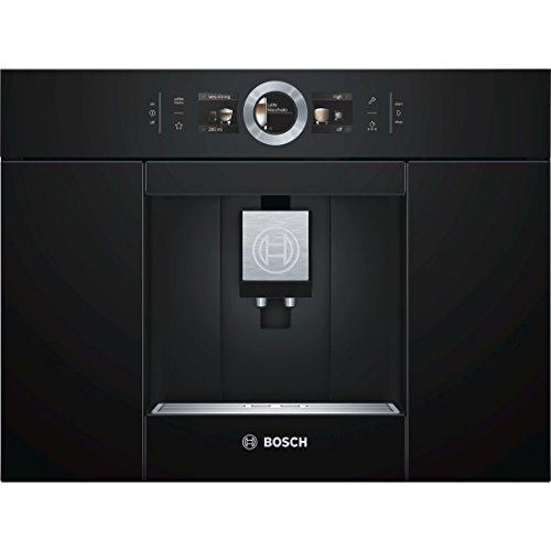 Cafetière à expresso automatique encastrable avec broyeur Bosch CTL636EB6 - 1600 W, 2.40 L