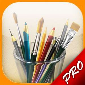 Application MyBrushes Pro gratuite sur iPad