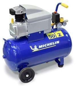 Compresseur d'atelier Michelin - 50L, 2 CV, MB50 230 V