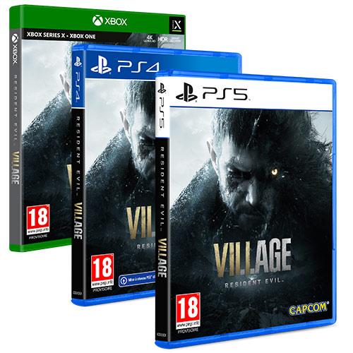 [Précommande] Resident Evil Village sur PS4 / PS5 & Xbox One (+10€ en bon d'achat sur les JV valable dès 20€)