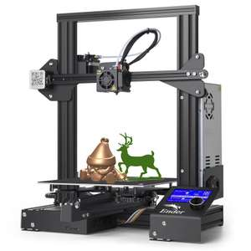 Imprimante 3D Creality Ender 3 - 220 x 220 x 250 mm (Entrepôt EU)