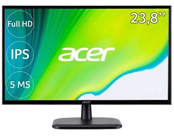 "Ecran PC 24"" Acer EK240YAbi - Full HD, Dalle IPS, 75 Hz, 5 ms, 72% NTSC"