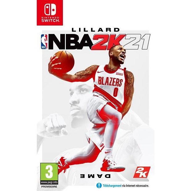 Jeu NBA 2K21 sur Nintendo Switch