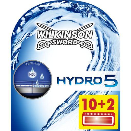 Pack de 12 lames recharges Wilkinson hydro 5