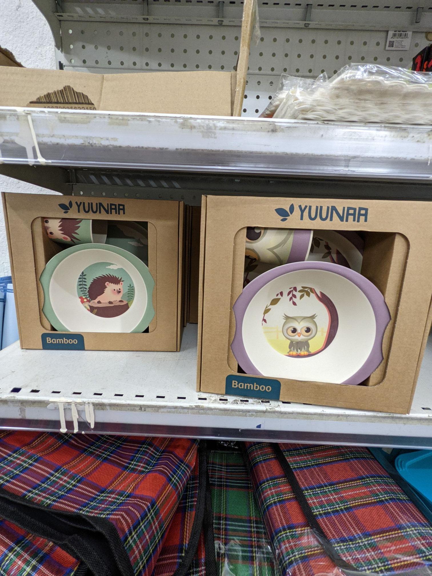 Set de repas en bambou Yuunaa pour bébé (Diverses variétés) - Saumur (49)
