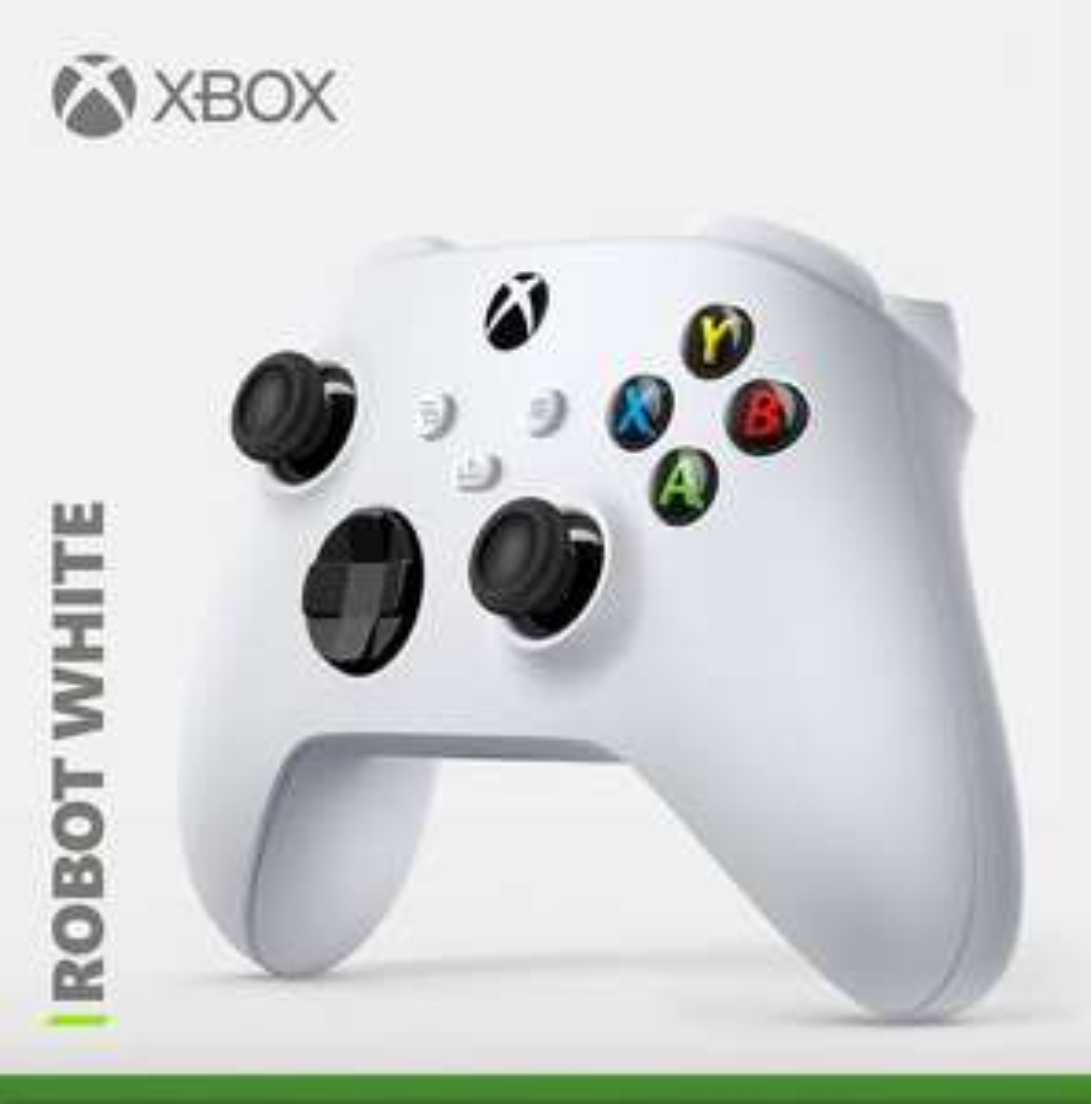Manette sans fil Microsoft Xbox Series Robot White (vendeur tiers)