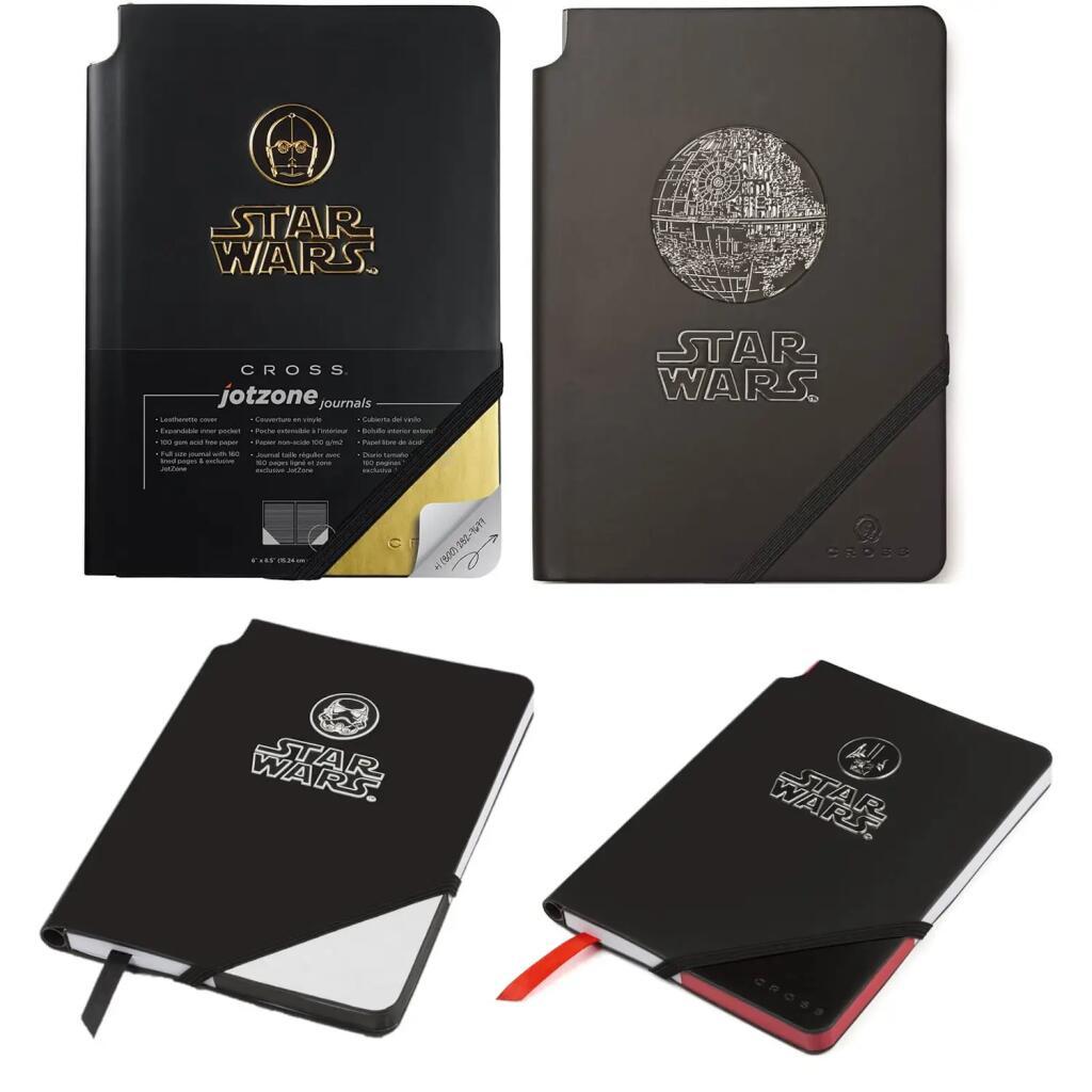 Lot de 4 Notebooks Star Wars A5 Premium