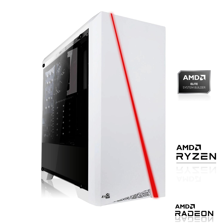 PC de Bureau Stoinkz - AMD Ryzen 3 4300GE, 8 Go RAM, A520M MSI, Alim Bequiet, 128Go SSD NVME + 1To HDD