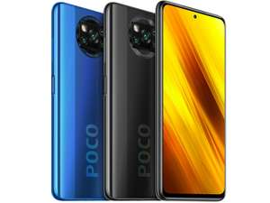 "Smartphone 6.67"" Xiaomi Poco X3 - Full HD+ 120 Hz, Snapdragon 732G, RAM 6 Go, 64 Go, 5160 mAh (Via l'application)"