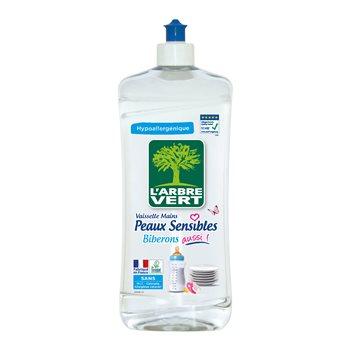 Liquide vaisselle Arbre Vert Mainspeaux sensibles - 750ml