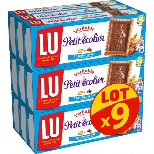 Sélection d'articles en promotion - Ex : Biscuits chocolat au lait Petit Ecolier