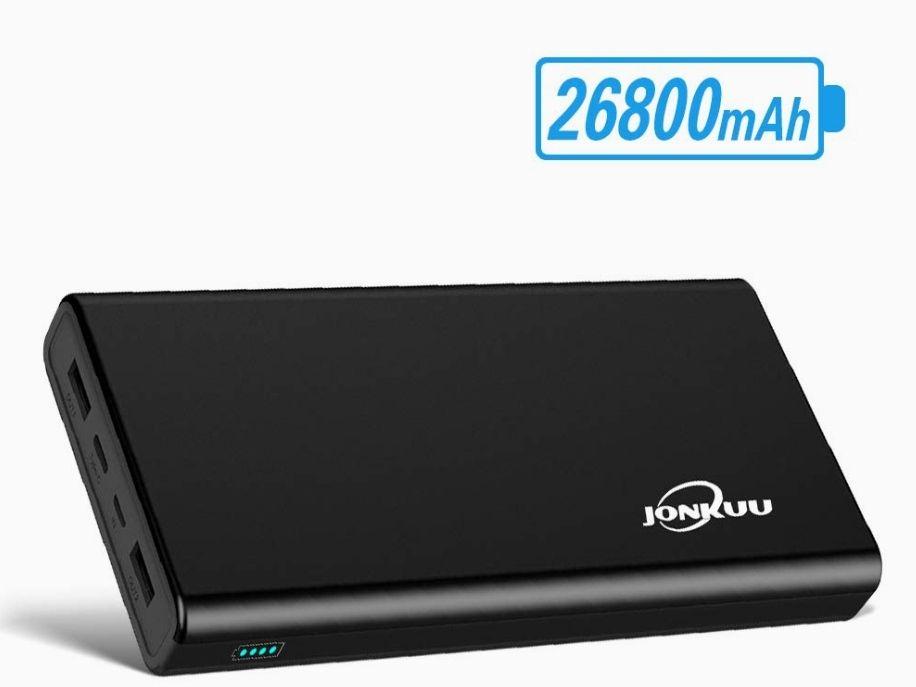 Batterie Externe USB Jonkuu - 26800mAh (Vendeur TIers)