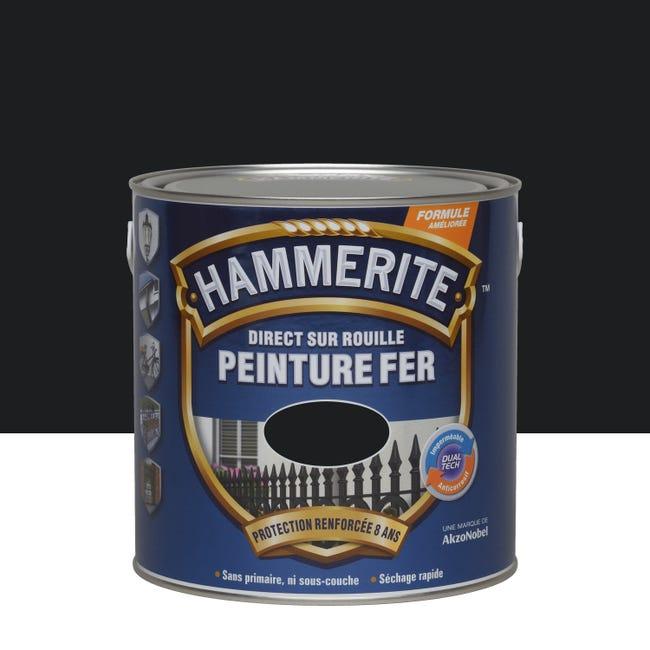 Peinture fer extérieur Direct sur rouille Hammerite - 2.5L