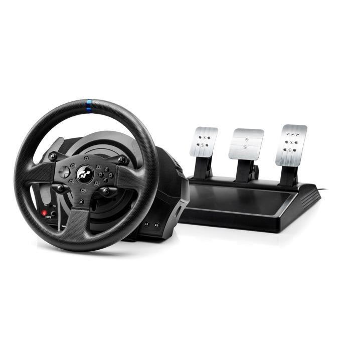 Volant Thrustmaster T300RS GT Edition + Pédalier pour PC, PS3 & PS4