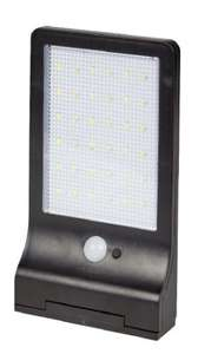 Lampe solaire à détecteur de mouvement - 36 LEDs