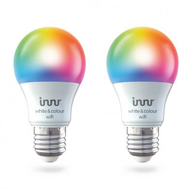 Lot de 2 ampoules LED connectées Innr - RGBW, E27