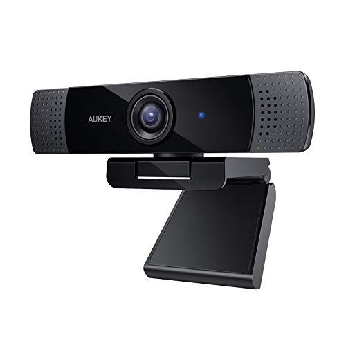 Webcam Aukey PC-LM1E - Full HD avec Microphone Stéréo (vendeur tiers - via coupon)