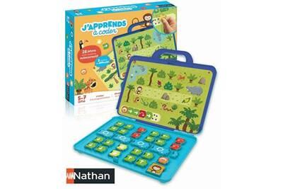Sélection de jeux éducatifs et ludiques Nathan en promotion - Ex : J'apprends à coder