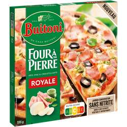 2 Pizzas Buitoni Four à Pierre