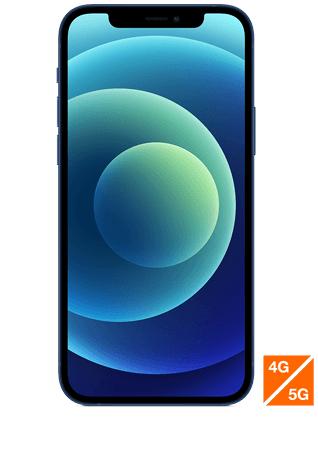 """Smartphone 6,1"""" Apple iPhone 12 bleu - 128Go (via reprise d'un ancien téléphone)"""