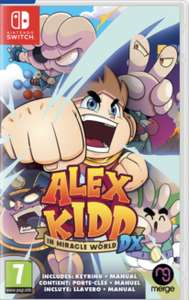 Jeu Alex kidd in miracle World DX sur Nintendo Switch