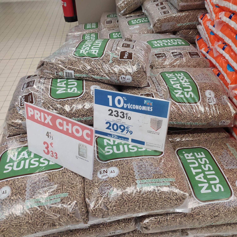 Sac de granulés de bois - 15 kg (Quetigny 21)