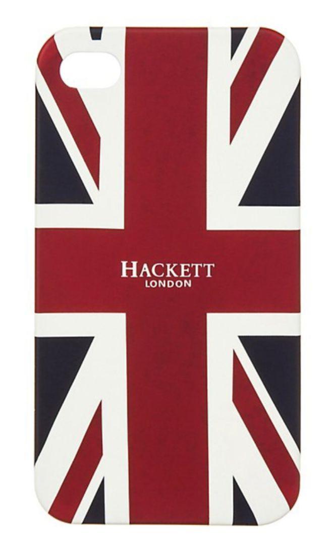 Coque Hackett London Union Jack pour Apple iPhone 4