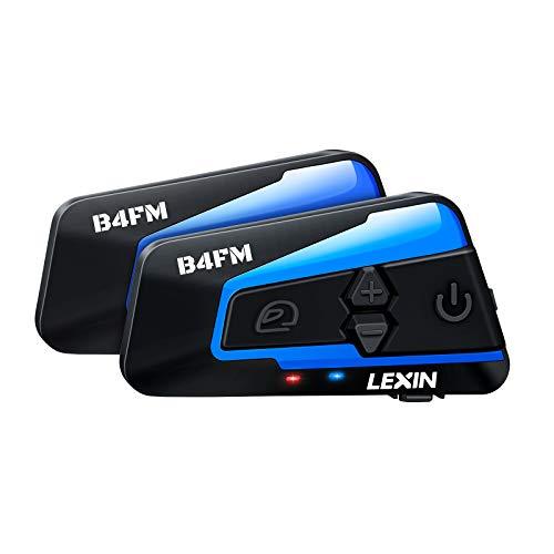 Lot de Intercoms Moto Lexin B4FM - FM,1-4, Réduction du Bruit, Portée 1200M (Vendeur tiers)