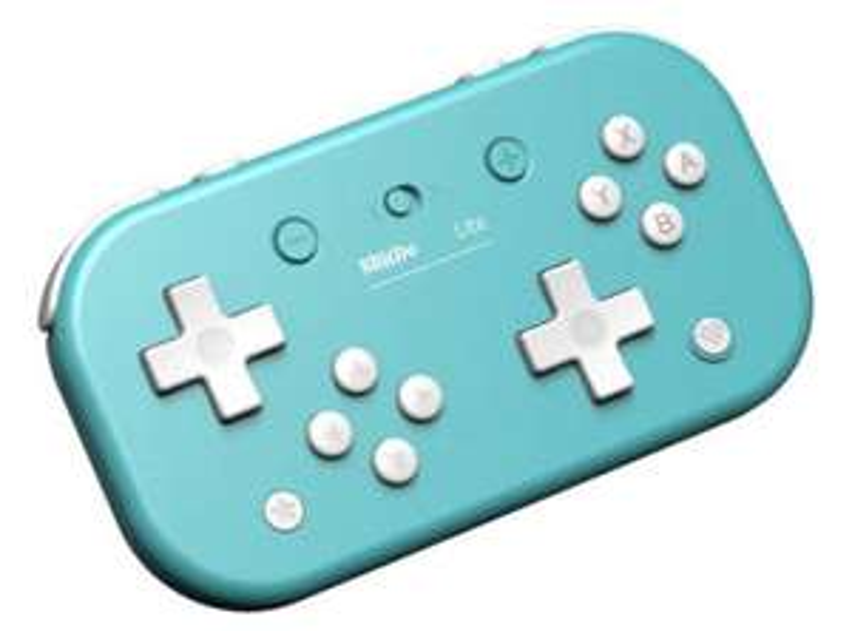 Manette Bluetooth 8BitDo Lite Turquoise pour Console Switch Lite, Switch et Windows