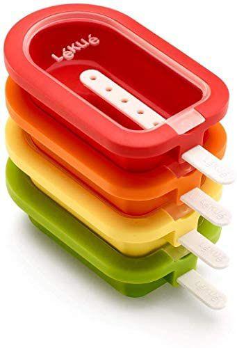 Pack Moule à glace empilable Classic Lékué - 16,5 cm, 4 pièces