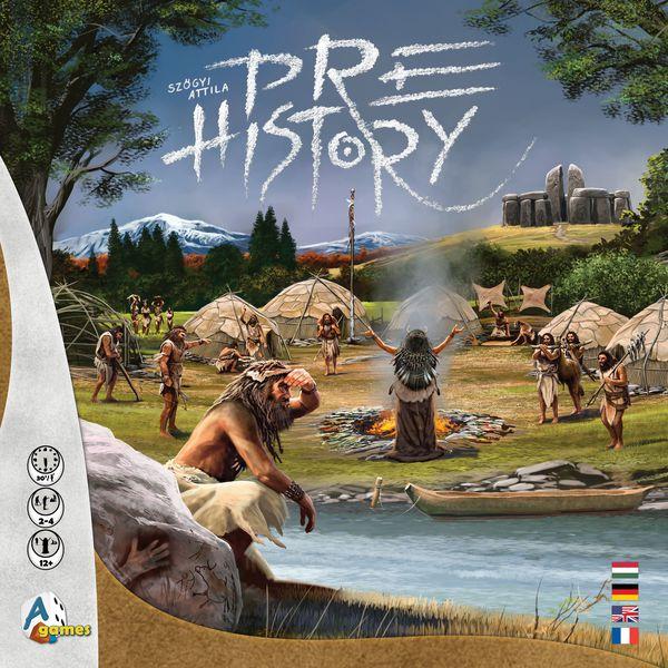 Jeu de société A Games - Pre History (parkage.com)