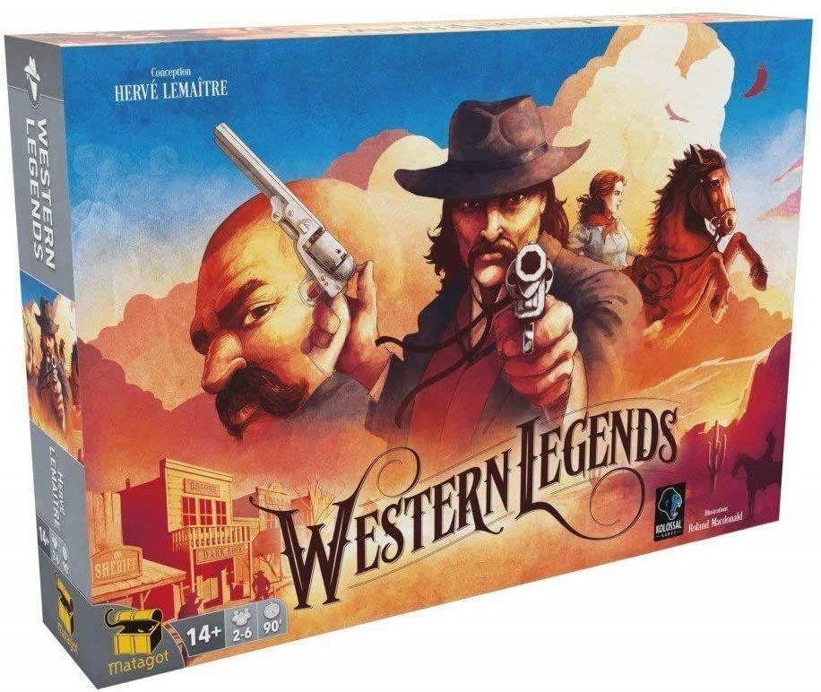Jeu de société Matagot Western Legends (via coupon)