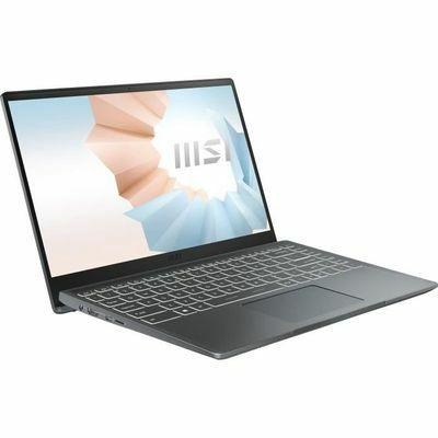 """PC Portable 14"""" MSI Modern 14 B11M-058XFR - FHD, Core i7-1165G7, 8 Go de RAM, SSD 512Go, Sans OS"""