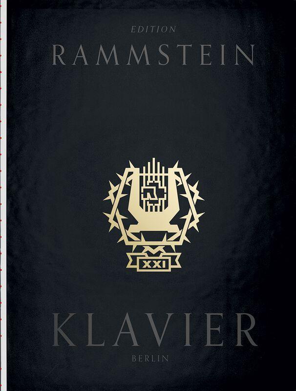 Livre + CD Rammstein: Klavier